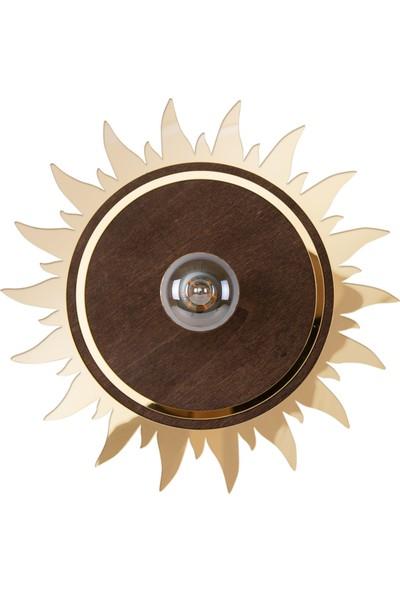 Atolye Zed Güneş Aplik Gold