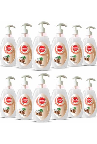 Acord 500 ml Hindistan Cevizi Sıvı Sabun 12 Adet