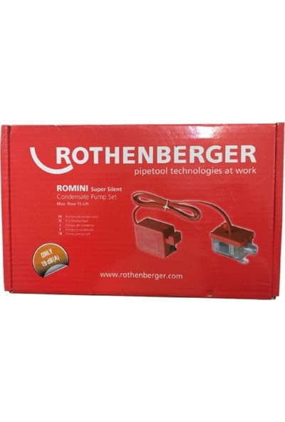 Rothenberger Romini Box Super Silent Drenaj Pompası