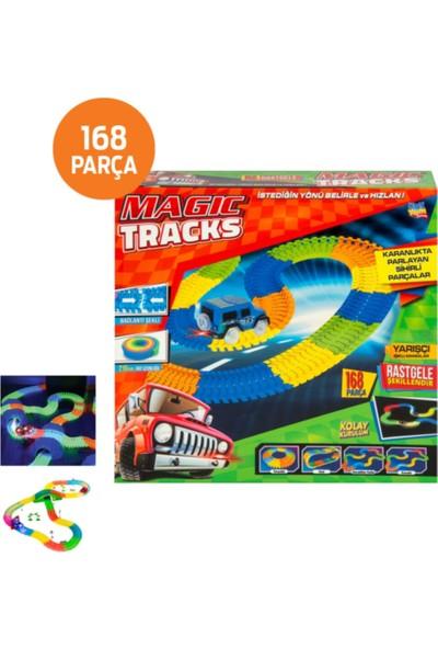 Kayyum Oyuncak Oyuncak Magic Tracks Hareketli Raylar 168 Parça Mgctr