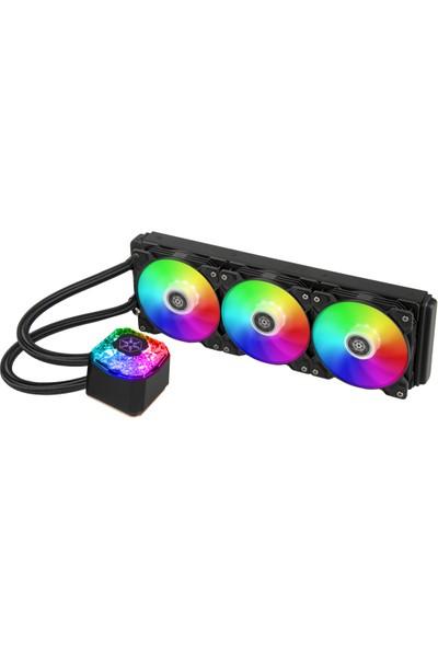 SilverStone IG360 ARGB 360mm 3 x 12cm Sıvı Soğutucu (SST-IG360-ARGB)