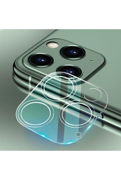 Ally Apple İphone 12 Pro Max 6.7 Full Tempered Kamera Koruyucu Cam Al33419 Şeffaf