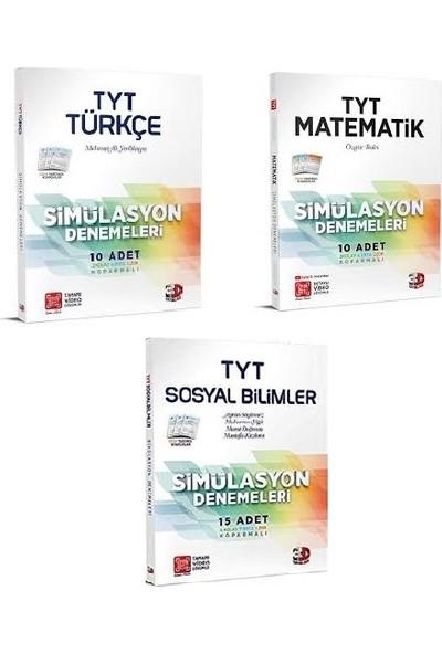 Çözüm 3D Yayınları TYT Türkçe, Matematik ve Sosyal Bilimleri Deneme Seti