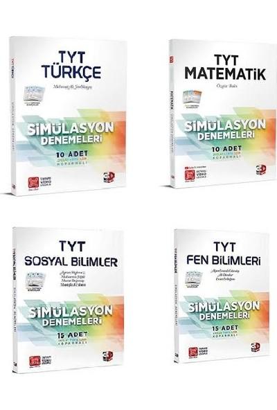 Çözüm 3D Yayınları TYT Türkçe, Matematik, Sosyal Bilimler ve Fen Bilimleri Deneme Seti