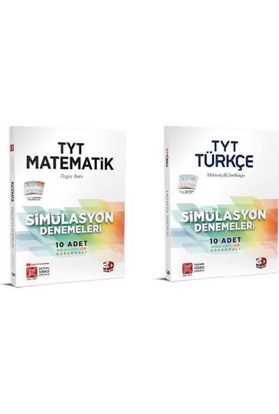 Çözüm 3D Yayınları TYT Matematik ve Türkçe Simülasyon Deneme Seti