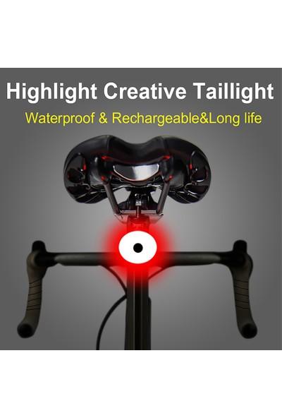 Buyfun Vurgu Bisiklet Arka Işık USB Şarj Edilebilir Bisiklet (Yurt Dışından)