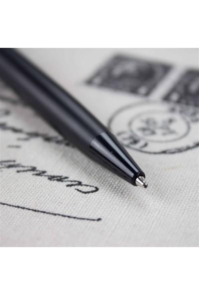 Hediye Rengi İsme Özel Kutulu Lüx Tükenmez Kalem Siyah