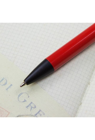 Hediye Rengi İsme Özel Kutulu Tükenmez Kalem Kırmızı