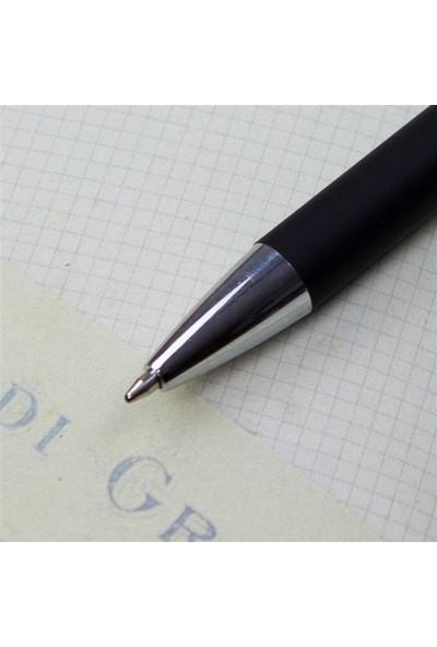 Hediye Rengi İsme Özel Kutulu Tükenmez Kalem Mat Siyah