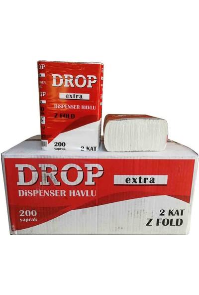 Drop Dispenser Z Katlı Kağıt Havlu 12 Adet 200 Yaprak