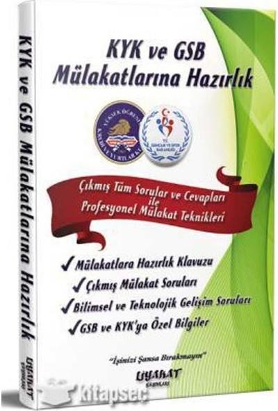 Liyakat Yayınları KYK ve GSB Mülakatlarına Hazılık (Hızlı Soru Cevap Tekniği)
