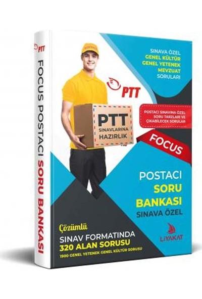 Liyakat Yayınları 2021 PTT Postacı Sınavı -Soru Bankası – PTT Postacı Sınavlarına Özel Hazırlık - Focus