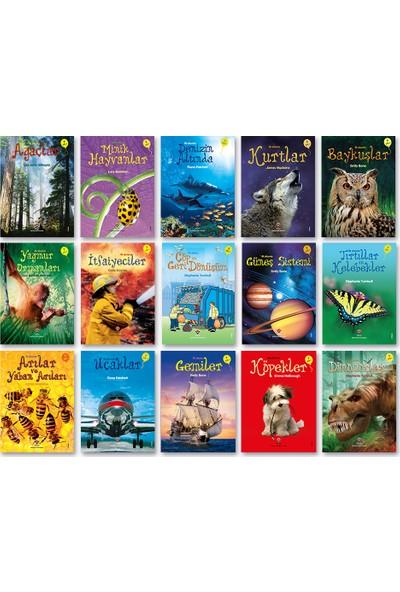Tübitak Popüler Bilim 1. Sınıflar Ilk Okuma Kitaplarım Set 1 - 15 Kitap - Emily Bone