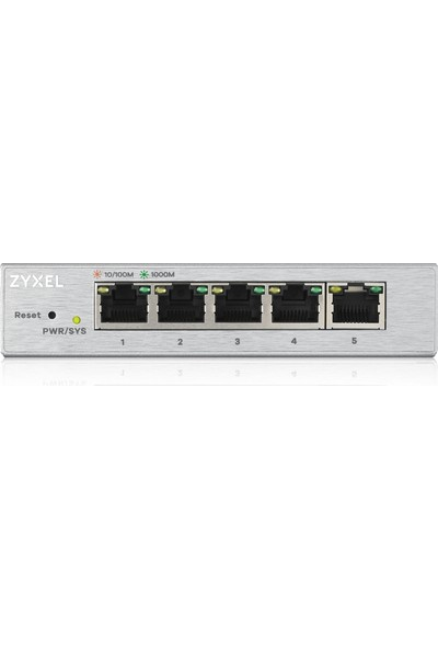 Zyxel GS1200-5 10-100-1000 Yönetilebilir Switch