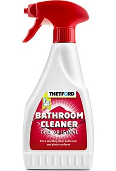 Thetford Dış Yüzey Temizleyicisi Spray (Kasetli Tuvalet + Mobilya Dolap) 0,5 Lıtre