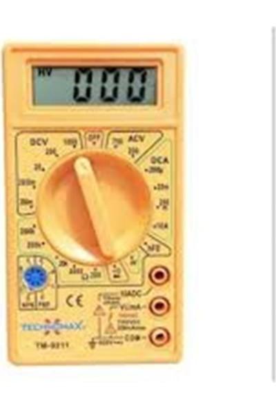 Technomax Tm-9211 Dijital Multimetre