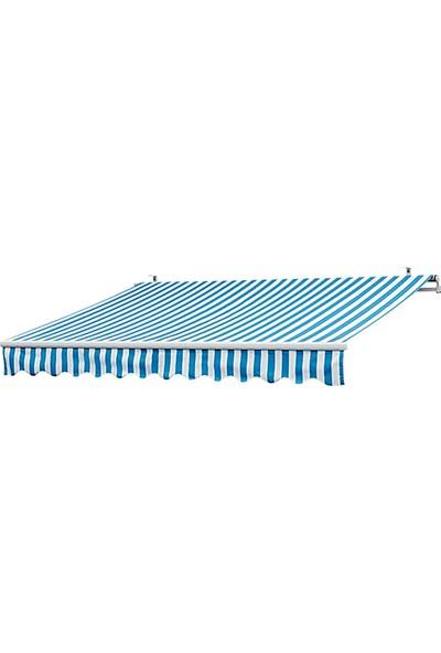 Evinizin Atölyesi Tente Mavi-Beyaz 400X250 cm