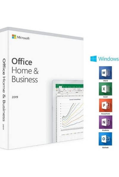 Microsoft Office 2019 Home And Business Ingilizce - T5D-03219