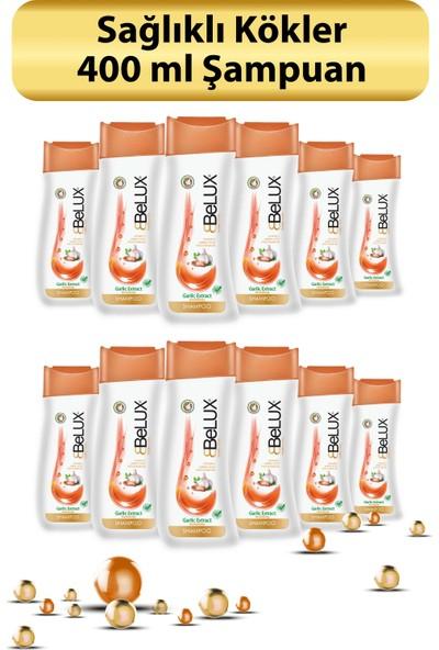 Belux Şampuan Sarımsak Özlü4 400 ml 12 li