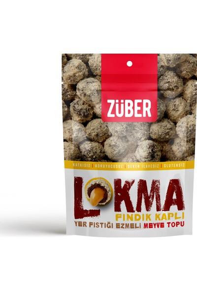 Züber Lokma Fındık Kaplı Meyve Topu 96 gr