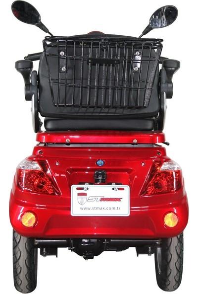 Stmax Elit 910 Elektrikli Araç 3 Tekerlekli Tek Kişilik - Beyaz