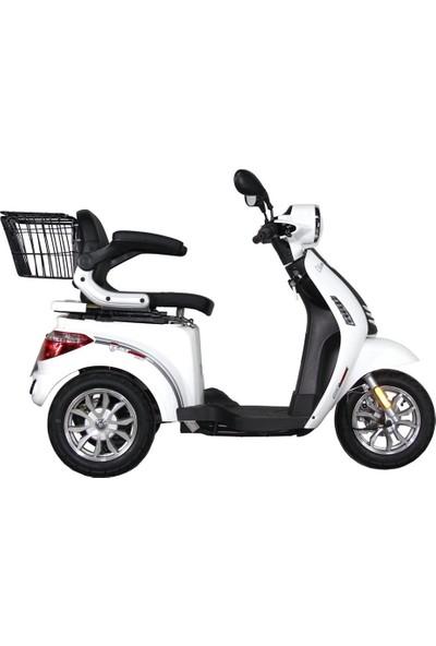 Stmax Elit 910 Elektrikli Araç 3 Tekerlekli Tek Kişilik - Kırmızı
