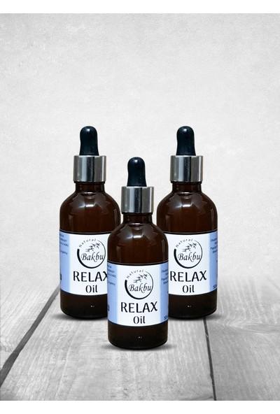 Bakbunatural Relax Oil 50 ml 3'lü