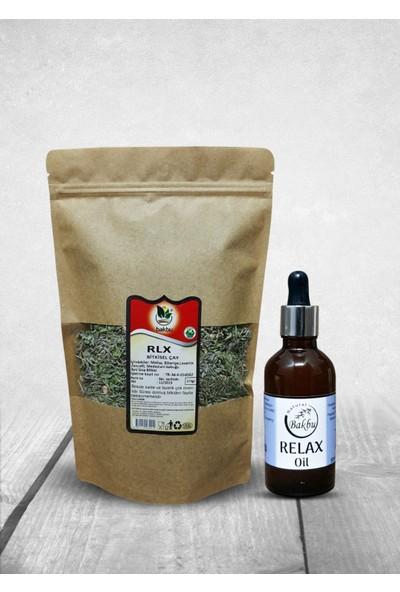 Bakbunatural Relax Oil 50 ml ve Rlx Çay 175 gr