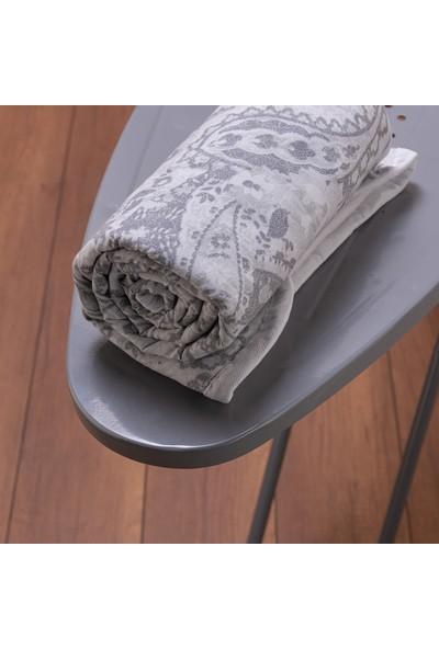 Favore Casa Hüner Şal Keçeli Ütü Masası Kılıfı 60X140 cm Gri