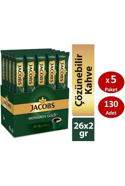 Jacobs Monarch Gold Çözünebilir Stick Kahve 26 x 5 Paket