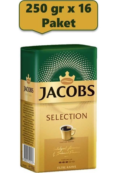 Jacobs Selection Filtre Kahve 250 gr x 16