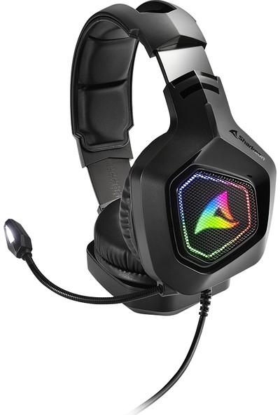 Sharkoon RUSH-ER30 USB Oyuncu Kulaklığı