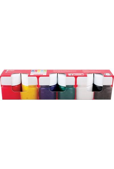 Südor Parmak Boyası Eko Set 6 x 15 ml
