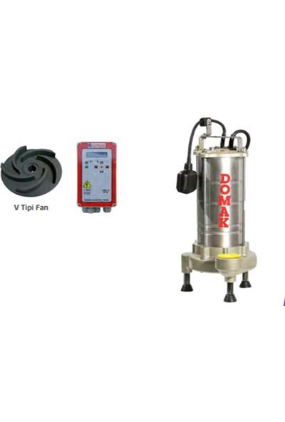 Domak Atık Su Dalgıç Elektropomplar Asm 1350 V5 3 Hp 220V