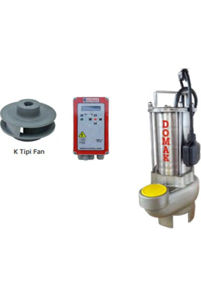 Domak Atık Su Dalgıç Elektropomplar ASM1330 K2 3hp 220V