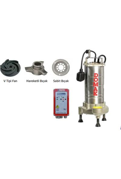 Domak Atık Su Dalgıç Elektropomplar ASM26 B4 1.5hp 220V