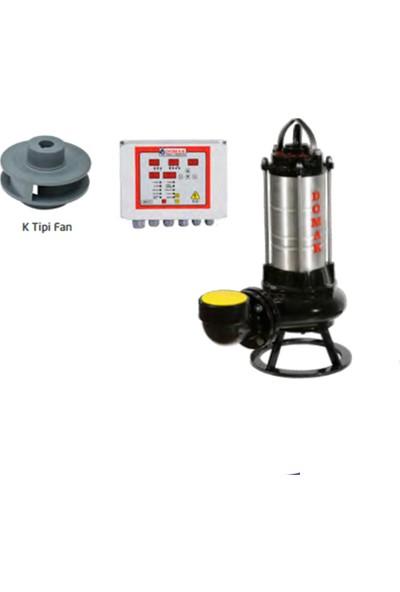 Domak Çelik Gövdeli Atık Su Dalgıç Elektropomplar AST1430 K2 7.5hp 380V