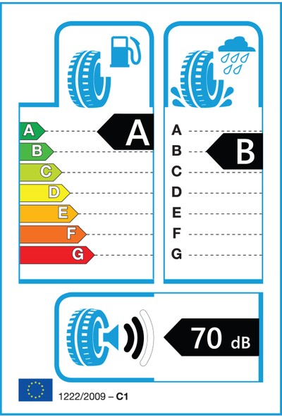 Continental 185/65 R15 88T ContiEcoContact 6 Oto Yaz Lastiği ( Üretim Yılı: 2021 )