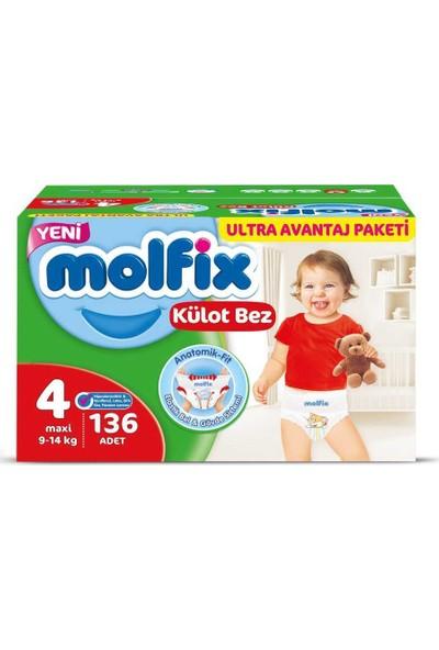 Molfix Külot Bez 4 Numara 136 Ultra Avantaj Paketi Kutu