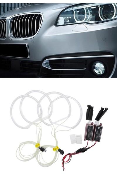 BTM Otomotiv Bmw E36 / E39 / E46 Ccfl Angel Eyes Halka Seti Beyaz