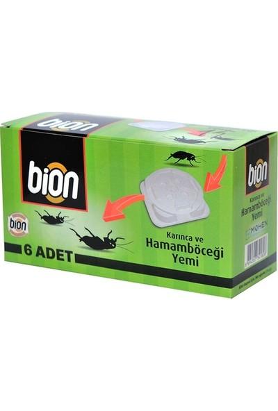 Bion İlaç Karınca Ve Hamamböceği Yemi 6 Adet Yem İstasyonu Bion