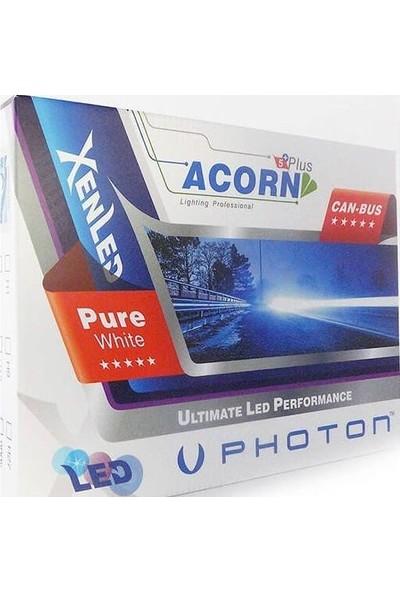 Photon H4 LED Xenon Photon Acorn 5 Plus LED Headlight