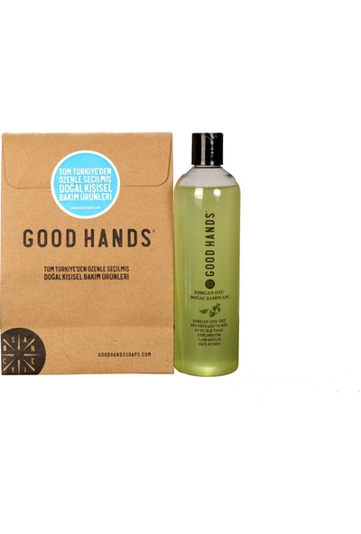 Good Hands Isırgan Otu Şampuanı % 100 Doğal