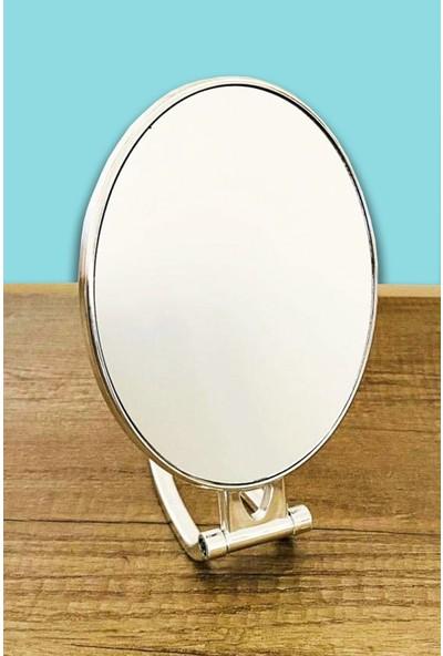 Leva House Ayaklı Büyüteçli 270 Derece Dönebilen Makyaj Aynası