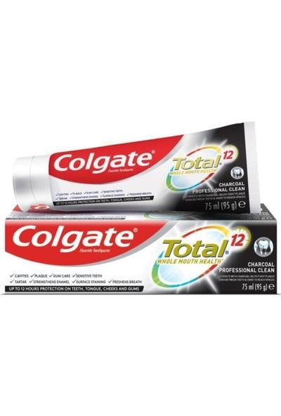 Colgate Total Profesyonel Aktif Kömür Diş Macunu 75 ml