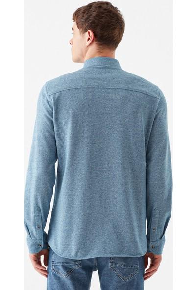 Mavi Erkek Lacivert Gömlek 021772-33512