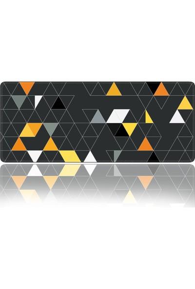 Xradesofis Üçgen 70X30 cm Xl Gamings Oyuncu Mousepad
