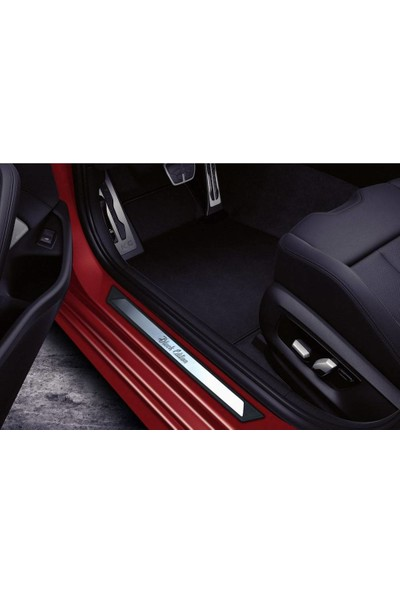 KromGaraj Peugeot Rifter Krom Kapı Eşik Koruması Black Edition 2019 Üzeri 2 Parça
