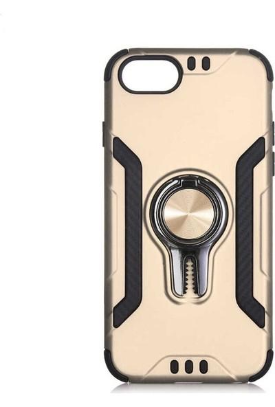 Milat Apple İphone 8 Plus Kılıf Lüks Koko Kapak Gold