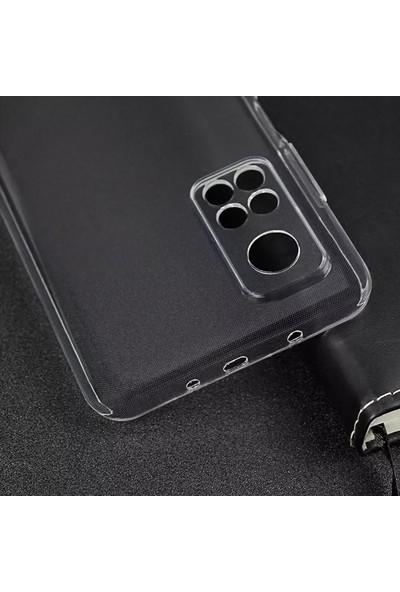 Cepstok Xiaomi Mi 10T Pro Kılıf Silikon Kamera Lens Korumalı Tıpalı Soket Korumalı Şeffaf